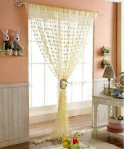 Polyester Eyelet Door Curtain (7 feet) Various Color Available GSM:75 Set of 2