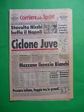 Corriere dello Sport Stadio 1997 Ciclone Juve vince 6-1 Milan San Siro Juventus