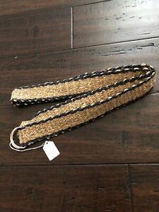Hippie Unisex Eco Friendly Rucksack THC Free PURE Hemp Belt Handmade Nepal HB5