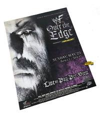 Wwf Over The Edge 1999 Ebay