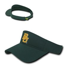 Hunter Green Baylor University Bu Bears Ncaa Cotton Polo Sun Golf Visor Cap Hat