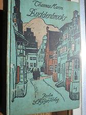 Deutsche leinene antiquarische Bücher als Prachtausgabe