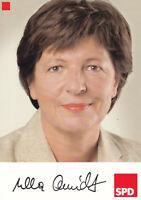 Ulla SCHMIDT - Deutschland, Politik, Ex-Bundesgesundheitsministerin, Original!