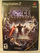 STAR WARS THE FORCE UNLEASHED Playstation 2 Video Game 2008 Lucas Arts EX. Cond.