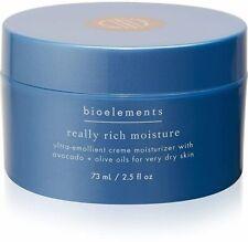 Really Rich Moisture, Bioelements, 2.5 oz