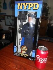 "Nypd Police Doll by Real Heros 9/11 Limited Ed Official New York Pd 11"" Mib"