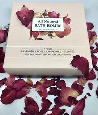 All Natural Bath Bomb Set