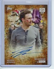 2017 Topps Waking Dead Season 7 Ross Marquand as Aaron Autograph Auto 7 of 99