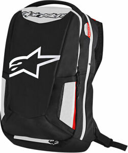 ALPINESTARS CITY HUNTER Commuter Motorcycle Backpack (Black/White/Red)