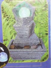 Zimmerbrunnen - Zierbrunnen - Springbrunnen mit RGB - Farbwechsel Licht( Trepp )