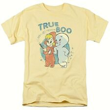 "Casper the Friendly Ghost & Wendy, ""True Boo"" Mens Unisex T-shirt -Sm to 3x -new"