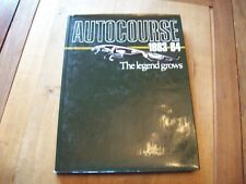 AUTOCOURSE EDITION 33 1983-84 F1 WORLD CHAMPION 1983 NELSON PIQUET JAGUAR COVER