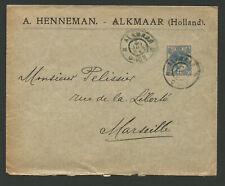Pays-Bas Nederland timbre sur lettre oblit. Alkmaar /L2222
