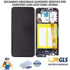 DISPLAY LCD + TOUCH SCREEN SCHERMO ORIGINALE SAMSUNG GALAXY A20E SM-A202F /DS