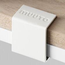 Clips blancs Muuto x5 pour étagères
