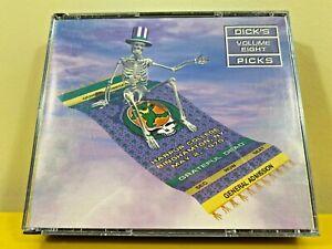 Grateful Dead Dick's Picks Vol 8 3 Discs 5/2/70 Harpur College VG+ Original 1997