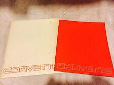 1983 Chevrolet Corvette Dealer Catalog