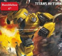 "New Transformers Hasbro Bumblebee Titans Return Legends Class 4"" Action Figure"