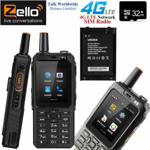 4G LTE Android Rugged Waterproof Smartphone Zello 2-Way Walkie Talkie Radio +32G
