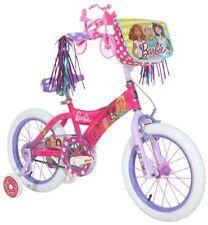 Dynacraft Kids Bike Bicycle Training Wheels Child 16 Inch Girls Barbie Sweets