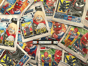 Lego Avengers Figuren AUSSUCHEN Minifiguren Thor Spiderman Captain Marvel Venom