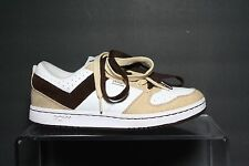 Pony City Wings Hipster Hemp Sneaker Athletic Multi Brown White Men's 8 EUC Spud