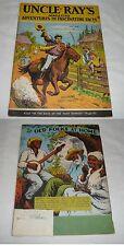 May 1949 UNCLE RAY'S MAGAZINE V.4 #5 ~ Pony Express, Leeches, Manatees