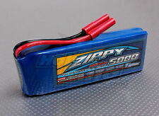 Zippy 5000mAh 3S 11.1V  20C 30C Lipo Battery redcat  TURNIGY VENOM HPI losi hpi