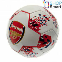 ARSENAL FC SIZE 5 WHITE BALL 26 PANEL OFFICIAL FOOTBALL SOCCER CLUB TEAM NEW