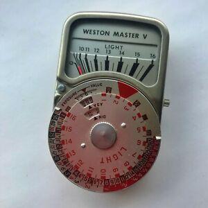 Weston Master V Exposure Meter.