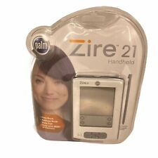 New listing New Sealed Palm Zire 21 Handheld Palm Pilot Pda White 8Mb Memory