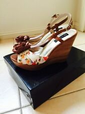 Wedge Floral Med (1 in. to 2 3/4 in.) Heels for Women