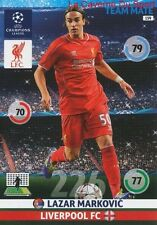 159 LAZAR MARKOVIC LIVERPOOL.FC  CARD CHAMPIONS LEAGUE ADRENALYN 2015 PANINI