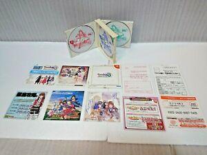SAKURA WARS 3 Dreamcast Sega DC Japan manual