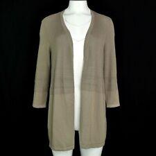 Alfani Womens Knit Cardigan Sweater Textured Long Sleeve Gray Size PL NWT