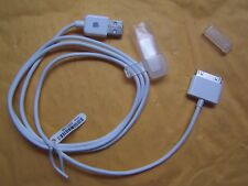 Apple 30-PIN to USB Charge & Sync Cable for iPhone iPod iPads MA591G/C