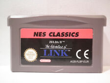 ZELDA 2 THE ADVENTURE OF LINK NES CLASSIC EDITION GAME BOY ADVANCE SP GBA