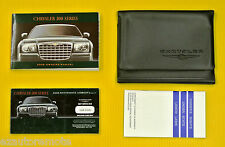 300 Series 05 2005 Chrysler Owners Owner's Manual Set w/ Case All Models