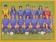 N°686 SQUADRA TEAM # FIRENZE FEMMINILE STICKER FIGURINA PANINI CALCIATORI 2008