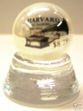 OLD HARVARD PHONOGRAPH LOGO COLLECTOR MARBLE