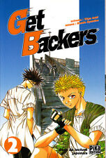 GET BACKERS    MANGA  N°  2    PIKA  EDITION