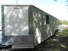 34' 2 car hauler/cargo trailer enclosed 34' Plus V-NOSE   2018