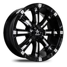 18x10 RBP 94R Black W/Chrome Inserts Wheels 8x170 (-25mm) Set of 4