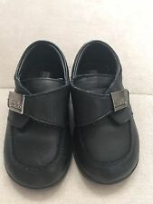 Baby Boy Dress Tod Leather Shoes Black Size 5 Kenneth Cole Reaction