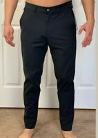 "Lululemon Mens Size 30 Commission Pant Slim 34"" Obsidian Gray OBSI Dress Causal"