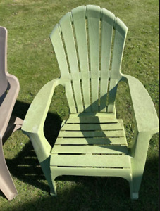 3 Adirondack Chairs USED in excellent condition