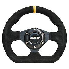 250mm Alcantara Steering Wheel - Flat Bottomed - M Range M25X3663B - Mountney