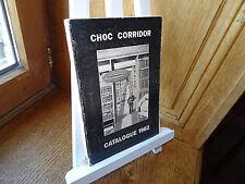 CHOC CORRIDOR Catalogue 1982 Littérature policière
