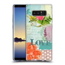 Étuis, housses et coques simples Pour Samsung Galaxy Note8 en silicone, caoutchouc, gel pour téléphone mobile et assistant personnel (PDA)