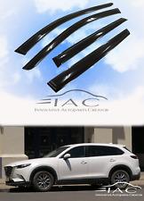 For Mazda CX-9 17-18 Window Visor Vent Sun Shade Rain Guard Door Visor New CX9